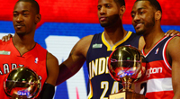 Terrence Ross, Paul George, John Wall(USATSI)