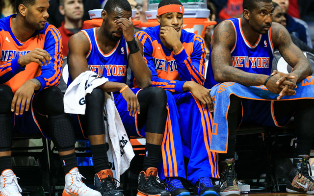 Everything has gone wrong for the Knicks this season. (USATSI)