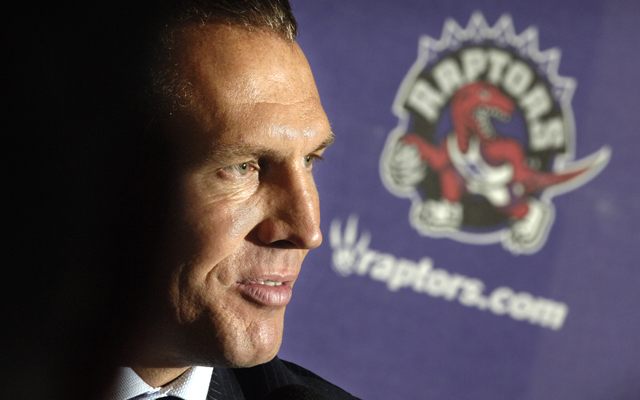 Bryan Colangelo admits that he set the Raptors up to tank a few years ago. (USATSI)
