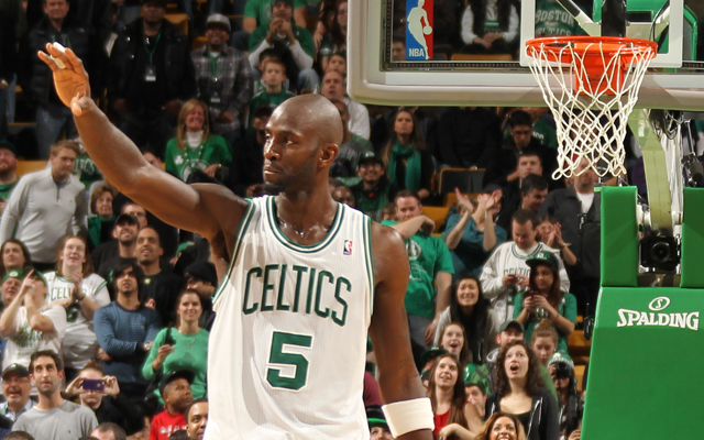 KG returns.   (Getty Images)