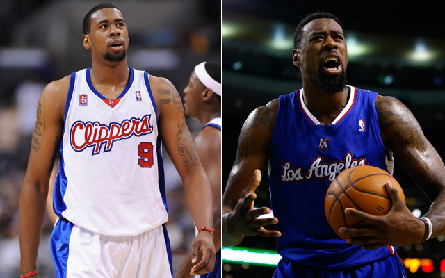 DeAndre Jordan has hulked up since his rookie season. (Getty Images)
