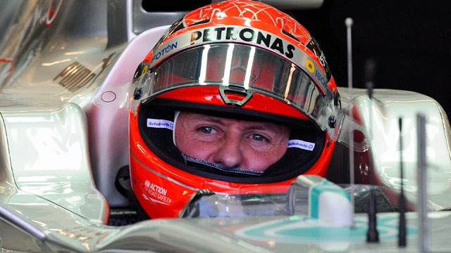 Michael Schumacher, 44, is a seven-time Formula One champion and has won 91 races. (USATSI)