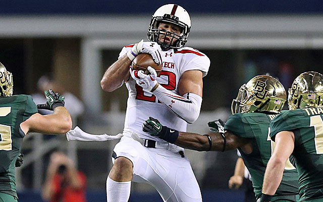Texas Tech's Jace Amaro is one weapon Arizona State will focus on stopping. (USATSI)