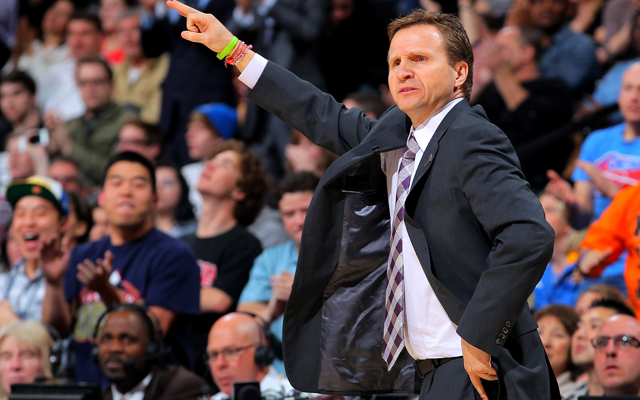 Scott Brooks is a target for blame among Thunder supporters. (Getty Images)