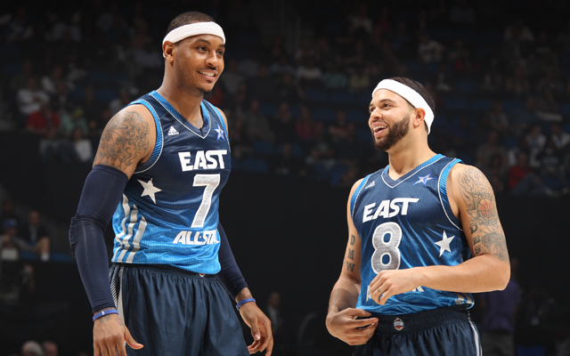 Deron Williams and Carmelo Anthony left their franchises with uncertain futures. (USATSI)