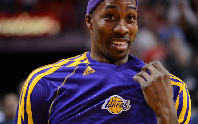 Can your team get Dwight Howard to put on a new jersey?    (USATSI)