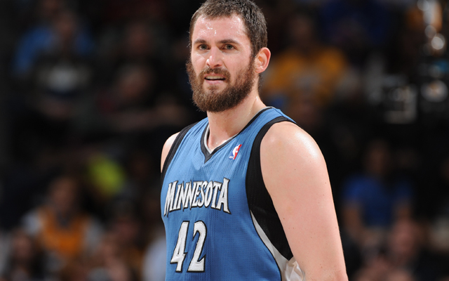 Kevin Love is on the Celtics' wishlist. (USATSI)