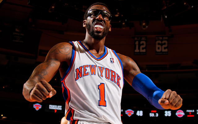 Amar'e Stoudemire will be under contract with New York next season.  (USATSI)