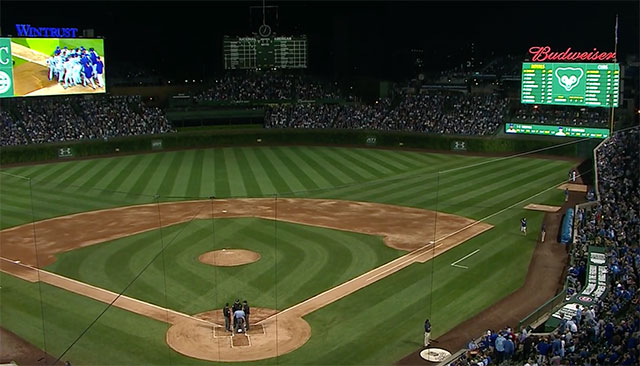 Cubs fans can watch potential road wild-card game at Wrigley Field