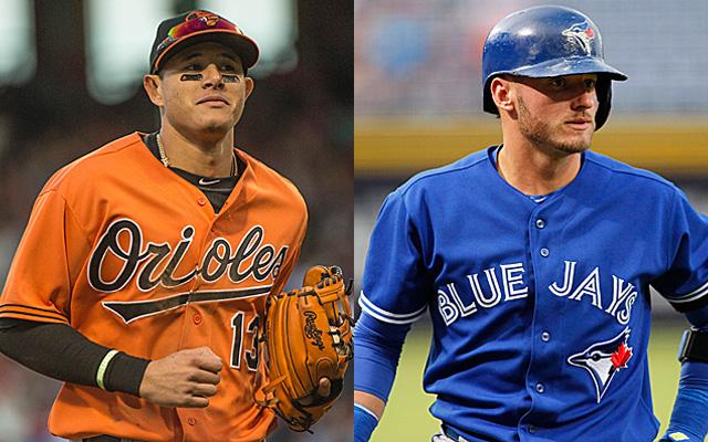 Manny Machado or Josh Donaldson? Make your pick.