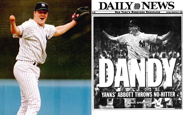 ON THIS DAY: One-handed Yankees pitcher Jim Abbott tosses no