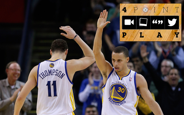 Nobody has ever put up 3-pointers like these two. (Getty Images)
