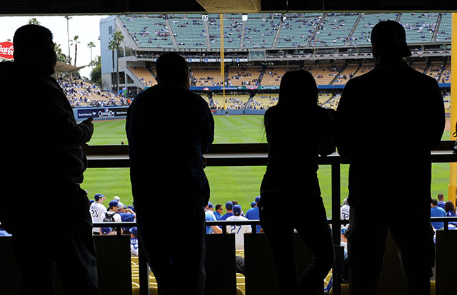Fan seriously injured in fight at Dodger Stadium parking lot