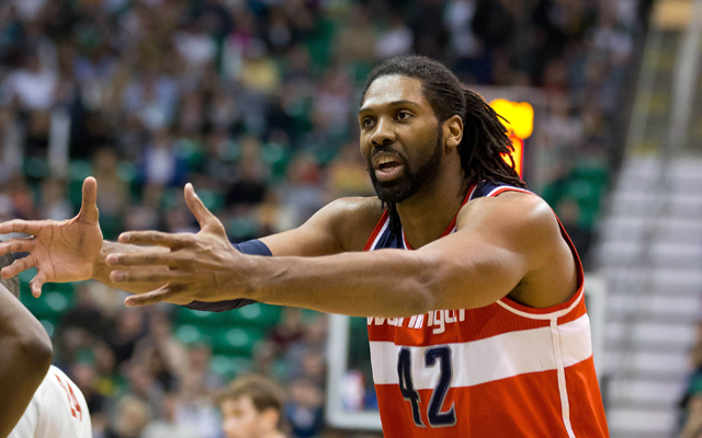 Nene is desperate to get healthy over the summer.    (Getty Images)