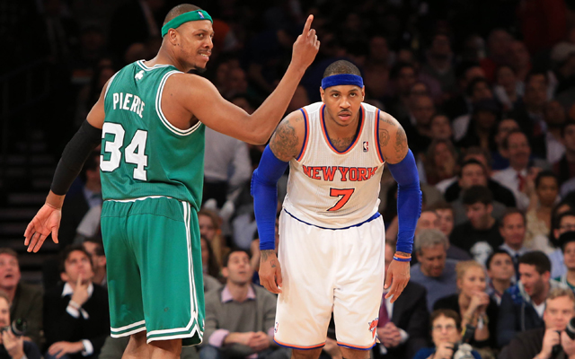 The Celtics and Knicks will play Game 1 Saturday.   (USATSI)