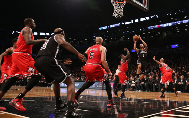 Can the Bulls contain the Nets better in Game 2?    (USATSI)