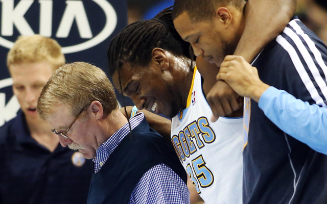 Faried may return in Game 2.    (USATSI)