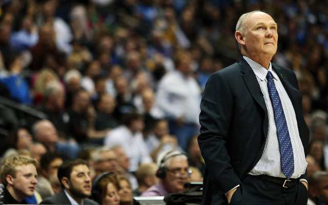George Karl ponders basketball and life as the Nuggets run into the playoffs.    (USATSI)