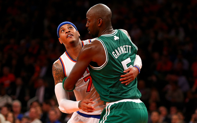 Hugging Melo could stop him. (USATSI)