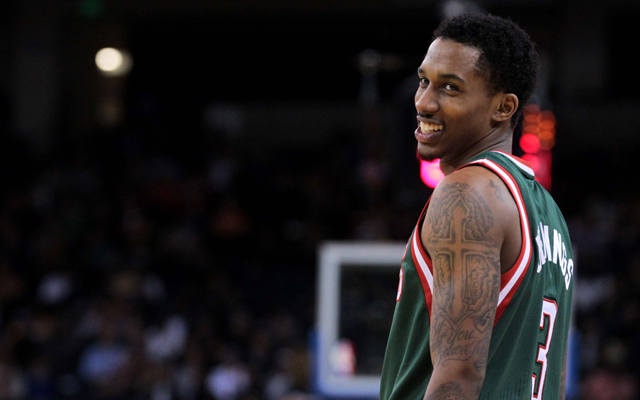 Is Brandon Jennings headed out the door in Milwaukee? (USATSI) (USATSI)