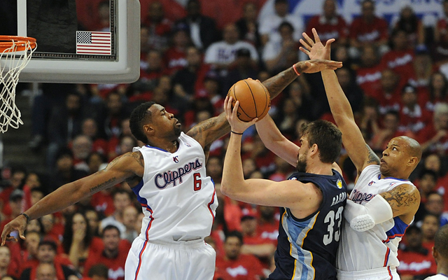 Will the Clippers slow down the Grizzlies inside Tuesday?    (USATSI)