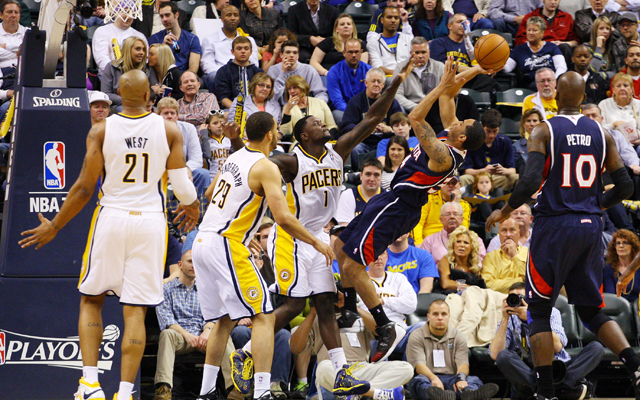 The Pacers and Hawks continue their struggle Wednesday.    (USATSI)