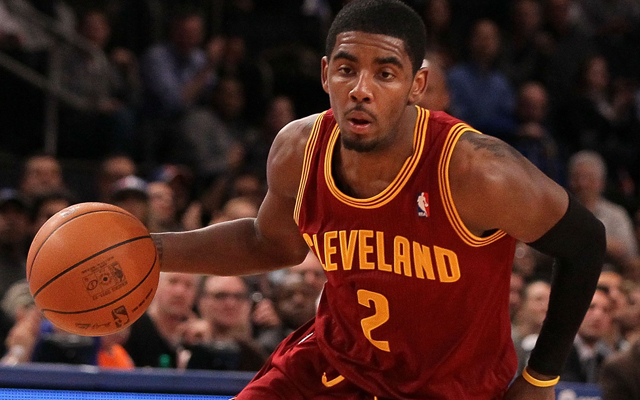 Does Kyrie support Scott?   (Getty Images)