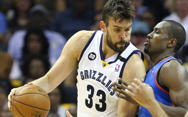 Grizzlies coach Dave Joerger wants more scoring opportunities for Marc Gasol.    (USATSI)