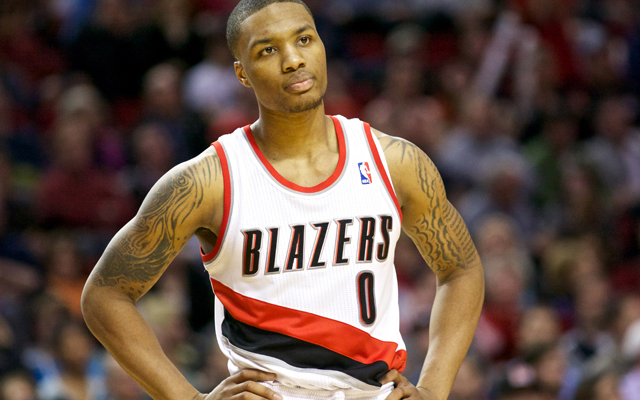 Lillard leads All-Rookie teams.   (USATSI)