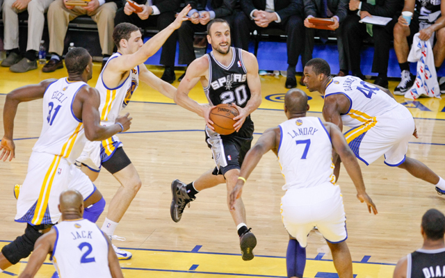 The Spurs sliced past the Golden State Warriors Thursday.   (USATSI)