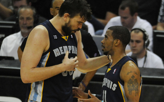 The Grizzlies are not rattled after Game 1.   (USATSI)
