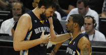 Gasol, Conley (Getty)
