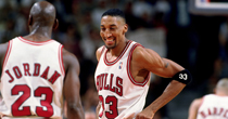 Scottie Pippen, Michael Jordan (Getty)