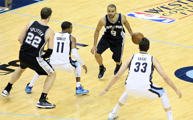 Can the Grizzlies finally stop Parker and the Spurs? (USATSI)