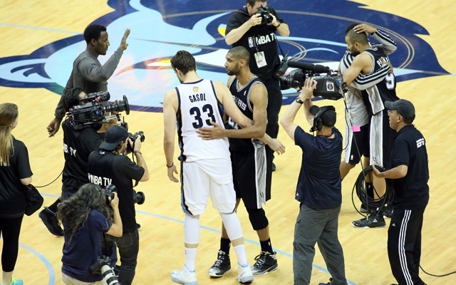 The Grizzlies respected the Spurs, even as they were swept.   (USATSI)