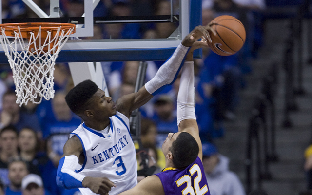 Nerlens Noel could be moved on draft night if selected No. 1.  (USATSI)