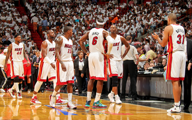 The Heat were rusty, and outplayed Monday.   (USATSI)