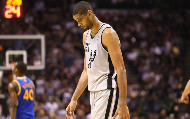 Tim Duncan has been here before. (USATSI)