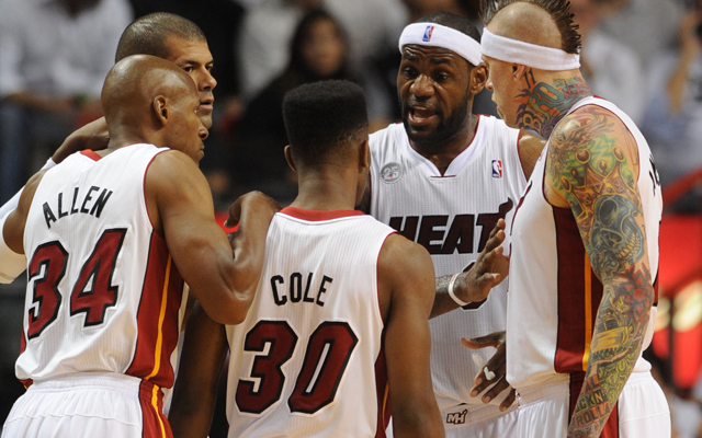 Miami Heat showed what they can do. (USATSI)