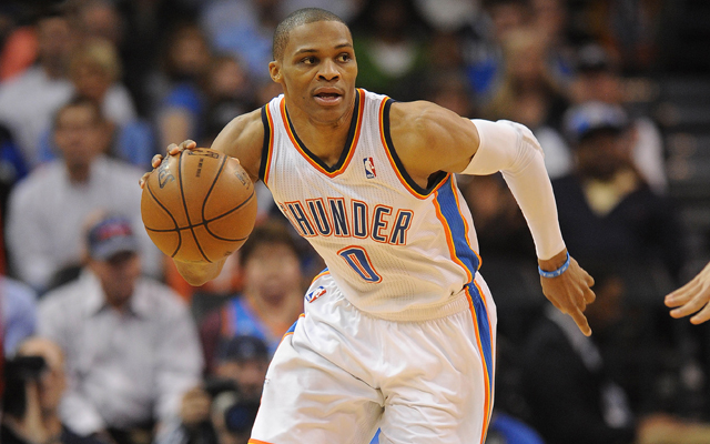 Russell Westbrook is having the procedure to reduce swelling in his knee. (USATSI)