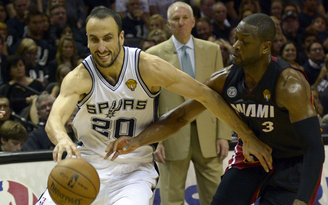 Manu Ginobili will return to the Spurs on a two-year deal.    (USATSI)