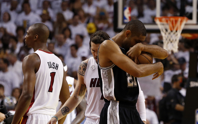 When he's ready, Tim Duncan will walk away from the game.  (USATSI)