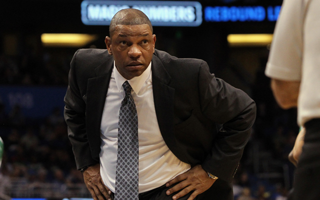 Doc Rivers has himself a high horse to ride. (USATSI)