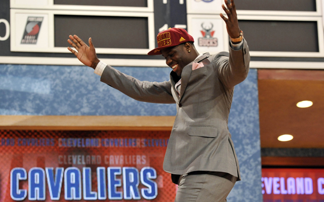 Anthony Bennett was the biggest winner Thursday night.    (USATSI)