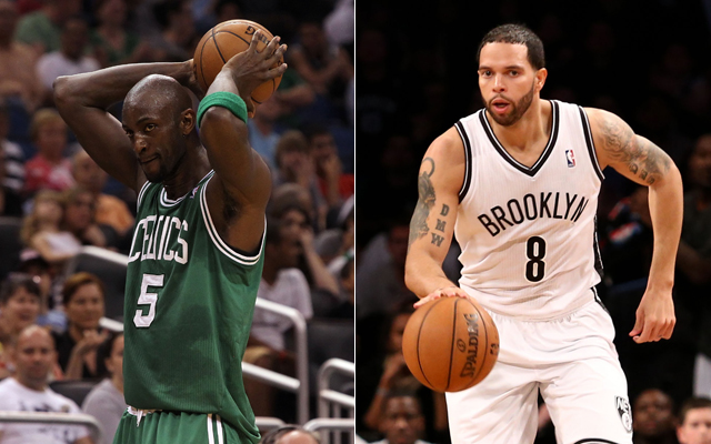 Kevin Garnett and Deron William hope to make a championship run in Brooklyn.    (USATSI)