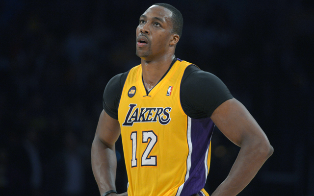 Dwight Howard says he played hurt last season.   (USATSI)