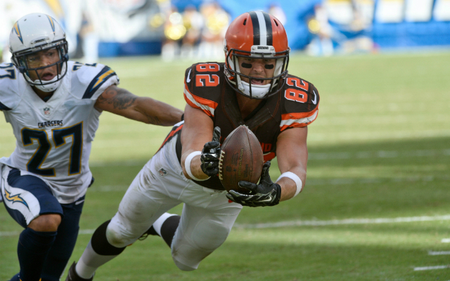 Will the Browns break a recent trend and franchise Gary Barnidge? (USATSI)