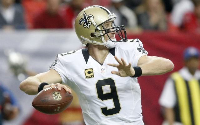 Drew Brees led the league in passing yards in 2015. (USATSI)