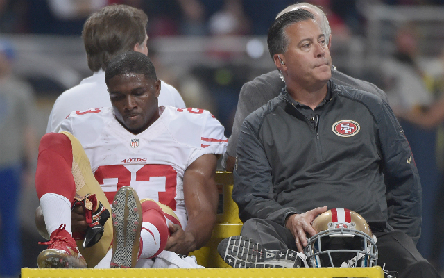 Reggie Bush's season ended prematurely due to an injury in St. Louis. (USATSI)