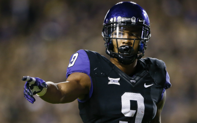 Josh Doctson's receiving ability would take the Vikings offense to the next level. (USATSI)